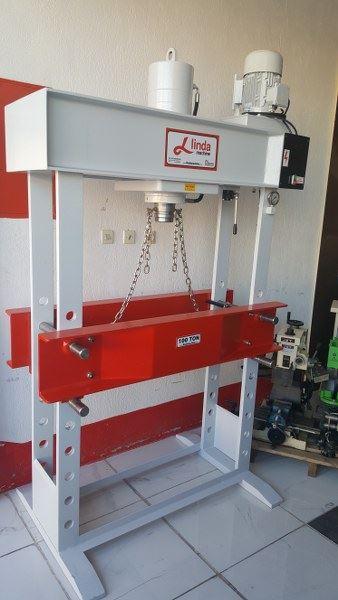 100 Ton Linda Machine Motorlu Hidrolik Press