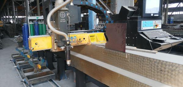 AJAN CNC 3000 X 12000 2014 MODEL BORU KESME