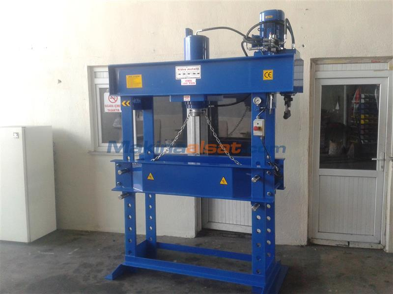 150 TON HİDROLİK PRES Used Hydraulic Tryout Press machine